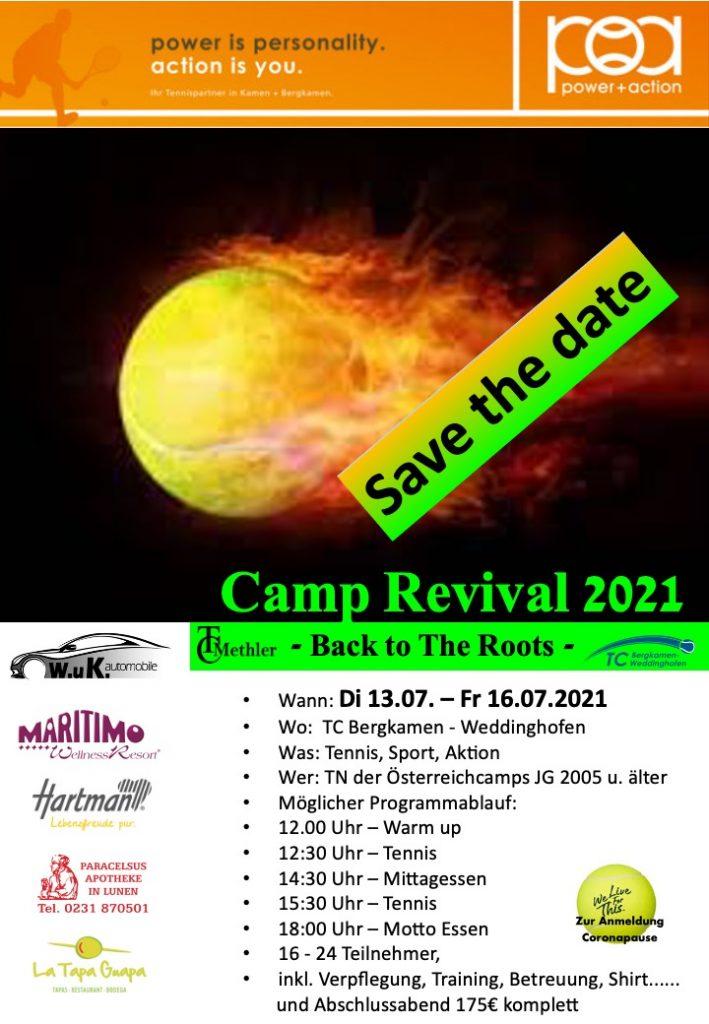 Camp 21 Plakat U18